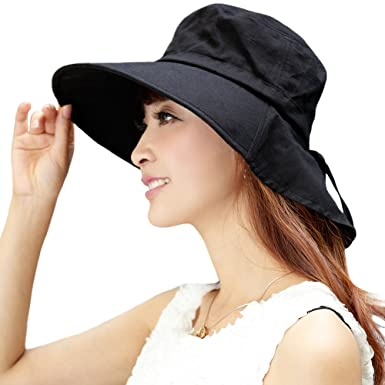 76a82753de7 Siggi Womens Summer Flap Cover Cap Cotton UPF 50+ Sun Shade Hat with Neck  Cord