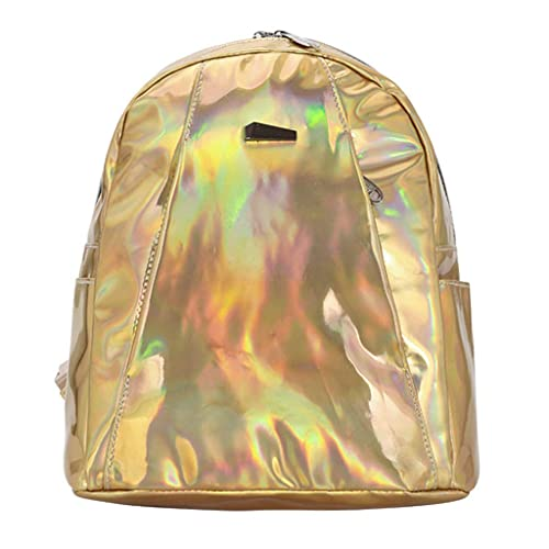 Leder Rucksack Backpack Schultertasche Mädchen Damen Frauen Tasche Kleine 14Zoll