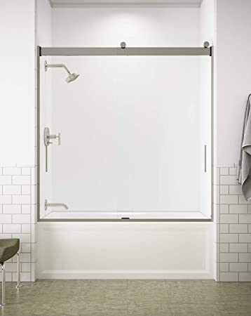 Kohler K 706000 L Mx Levity Bypass Bath Door With Handle And 1 4
