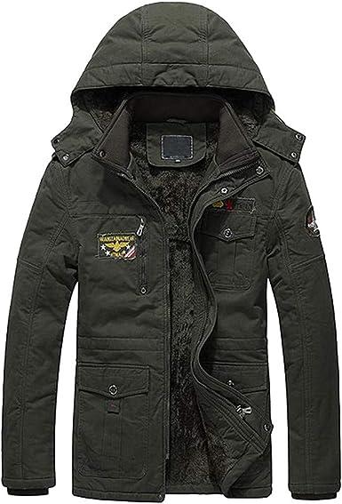 Mens Puffer Jacket Packable.Men Winter Warm Jacket Overcoat Outwear Slim Long Trench Buttons Zipper Coat