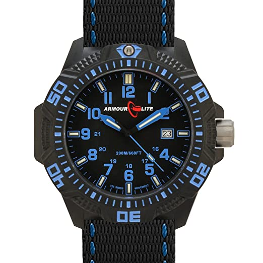 Amazon.com: Armourlite Caliber Series Tritium Watch in Blue: Everything Else