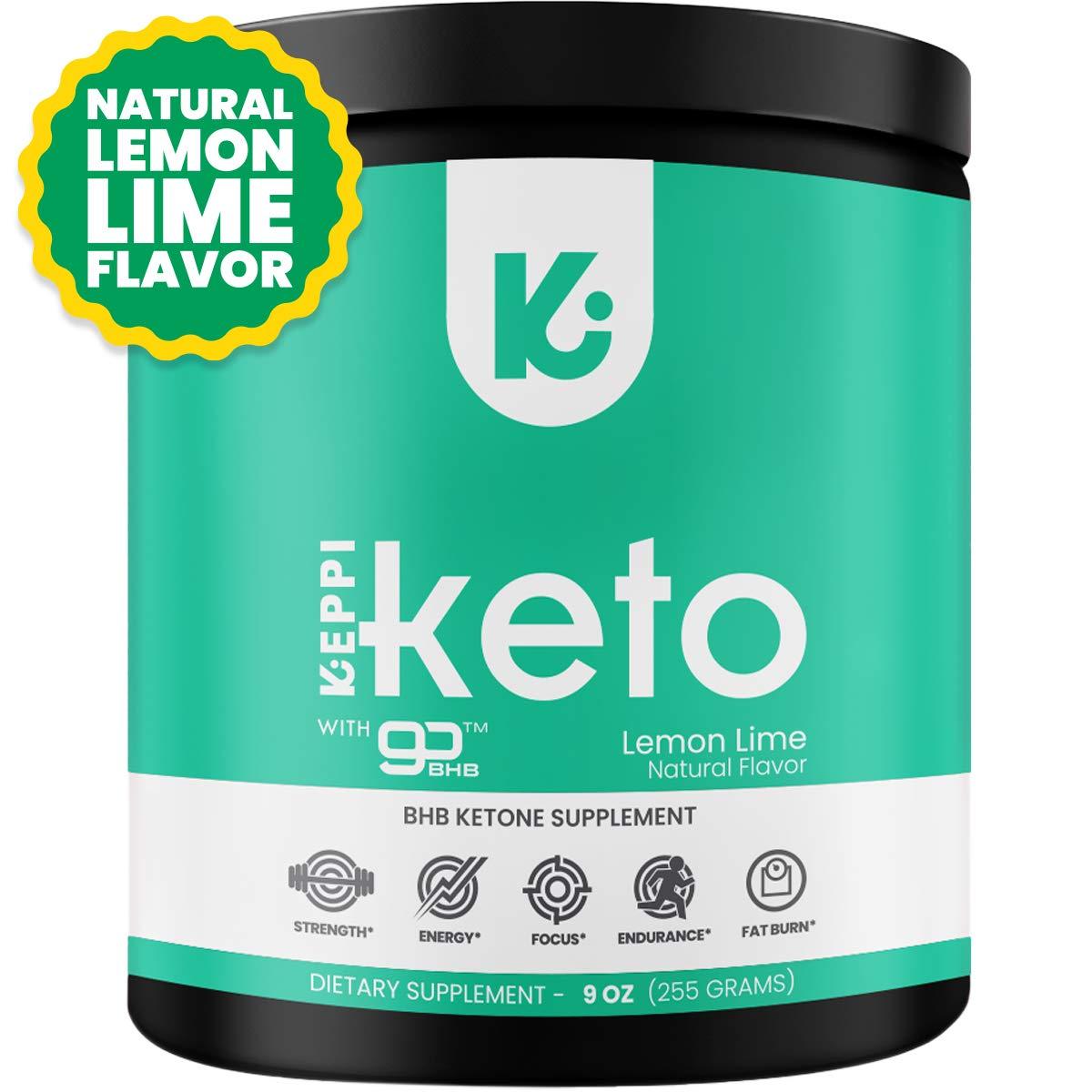 KEPPI Keto BHB Exogenous Ketones Powder Supplement: Patented BHB Ketones Formulated to Increase Energy, Burn Fat, Maintain Ketosis and Mental Focus by Keppi