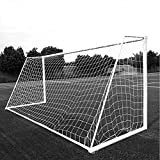Aoneky Soccer Goal Net - 10 x 6.5 Ft - 2.5 mm Cord - Full Size Football Goal Post Netting - NOT Include Posts