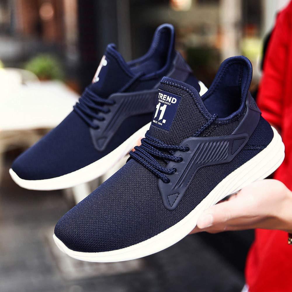 Hasag Sneakers Mesh Casual Zapatos Running Zapatos Hombre Zapatos Zapatos Zapatos Moda, Azul, 43 0cc901
