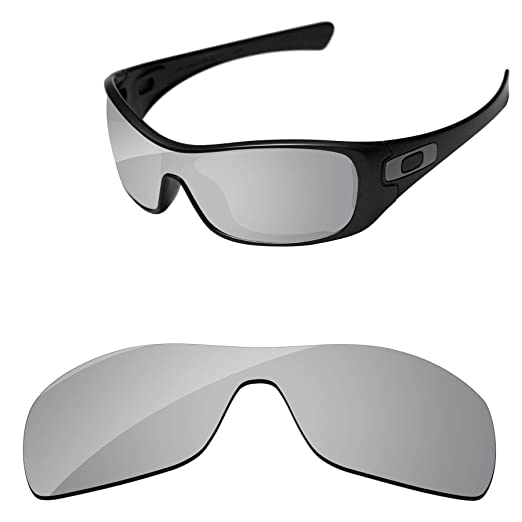 Amazon.com  PapaViva Lenses Replacement for Oakley Antix Chrome ... bbe792b37d79