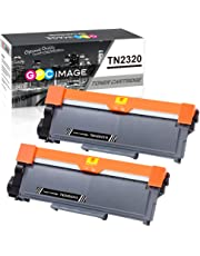 GPC Image TN2320 TN2310 TN-2320 TN-2310 Compatible Toner Cartridges Replacement for Brother MFC-L2700DW HL-L2340DW HL-L2360DN HL-L2300D DCP-L2500D DCP-L2520DW HL-L2365DW MFC-L2720DW (Black, 2-Pack)