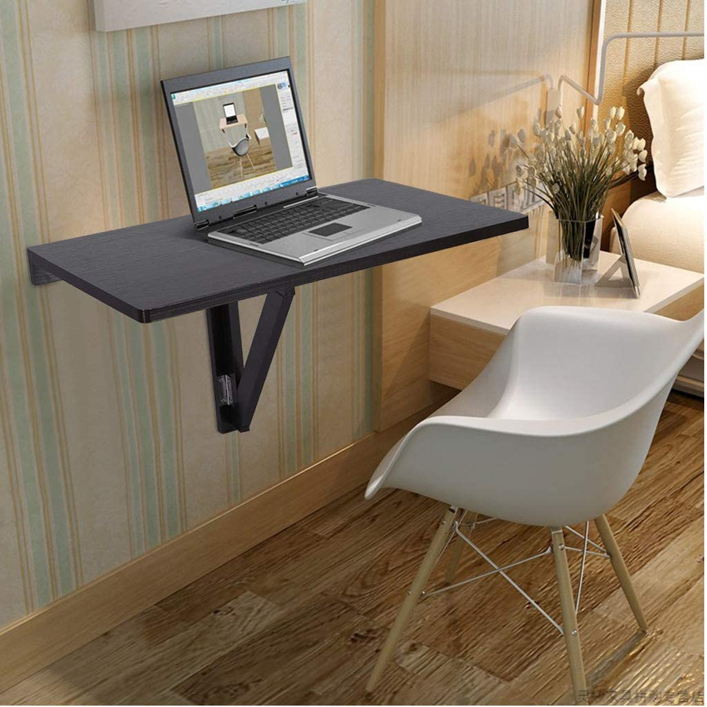 Amazon.com: Wall-Mounted Table, Lataw Drop-Leaf Folding Kitchen