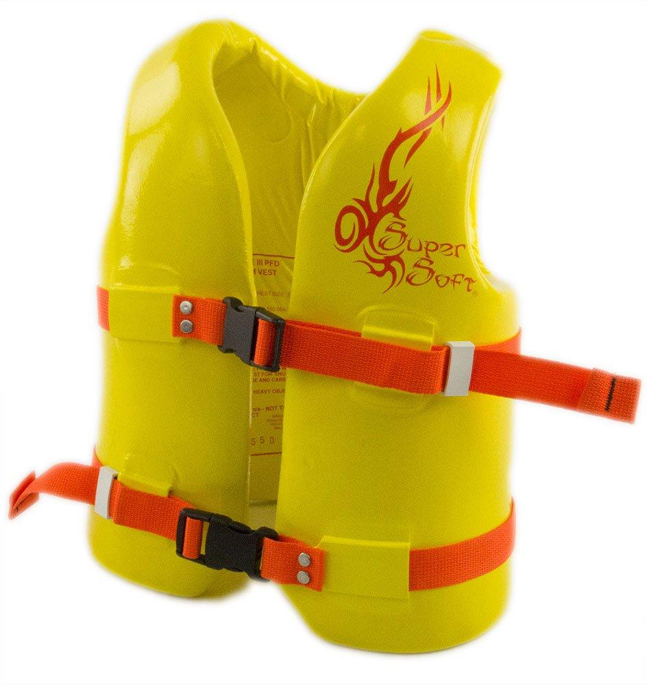 【超ポイント祭?期間限定】 USCG Approvedの子のvinyl-coated Foam – Swim Vest – 中 Foam – イエロー イエロー B0795B22HF, ワイエムエス大阪:f354244c --- a0267596.xsph.ru