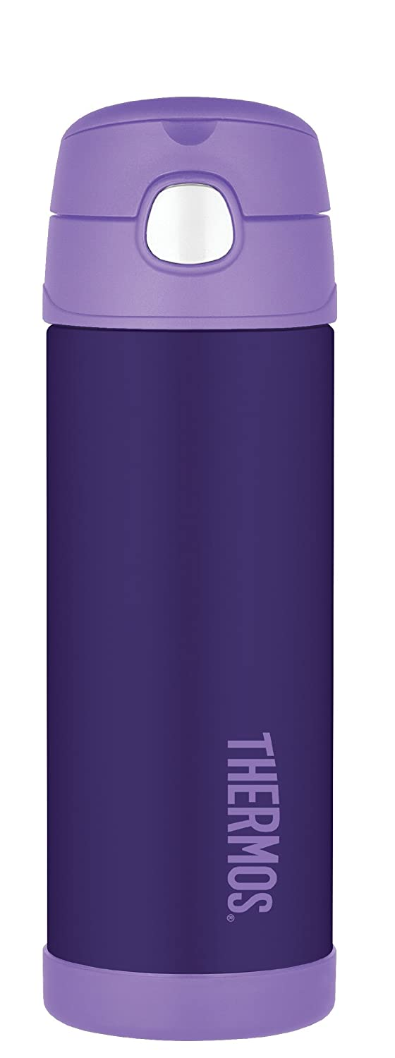 Thermos Funtainer 16 Ounce Bottle Purple