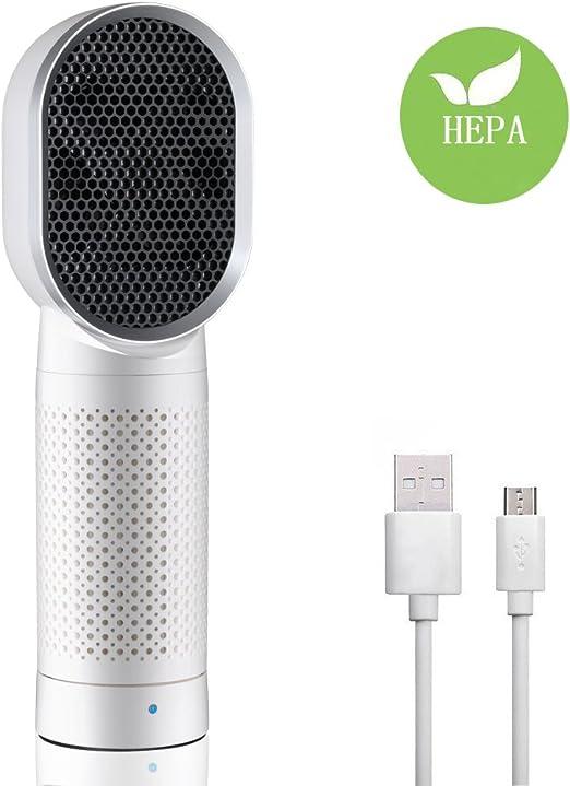 Beauty Star Purificador de aire con Verdadero Filtro HEPA- filtro ...