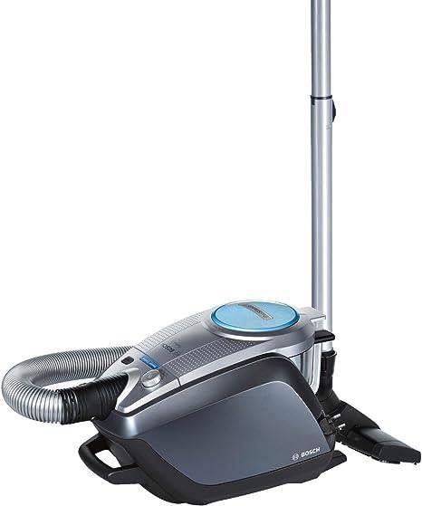 Bosch BGS51432- Aspirador sin bolsa (super silencioso, limpieza automática del filtro, para parquet), color gris: Amazon.es: Hogar