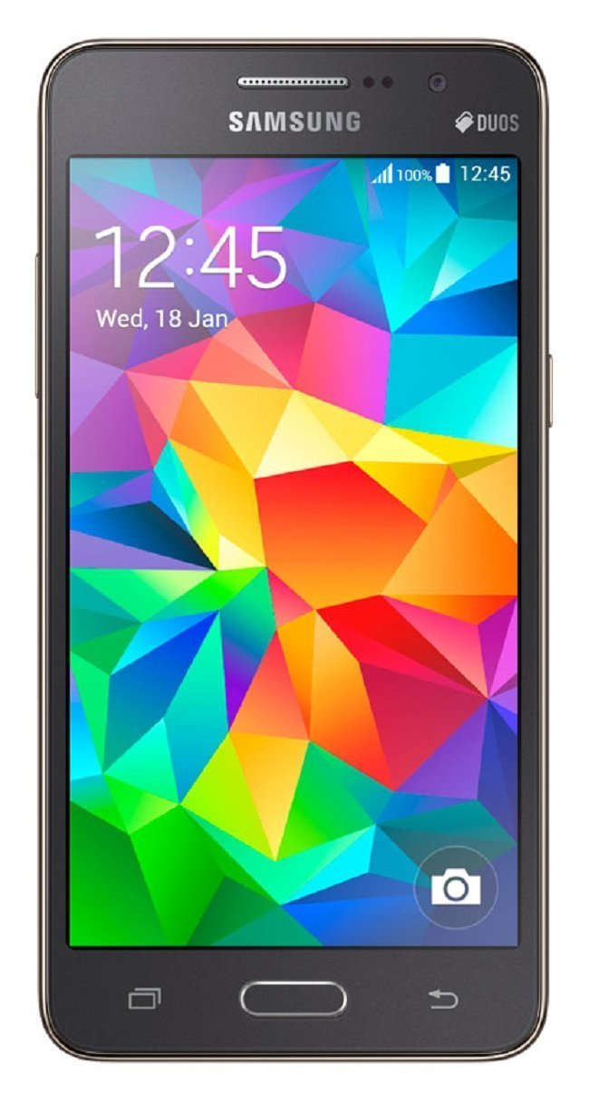 Amazon.com: Samsung Galaxy Grand Prime GSM Unlocked Cellphone - Gray: Cell  Phones & Accessories