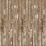 Beistle Western Barn Siding Backdrop For Farm Theme Birthday Party Supplies Wedding Photo Booth Props Barnyard Baby Shower Photography Background, Multicoloured