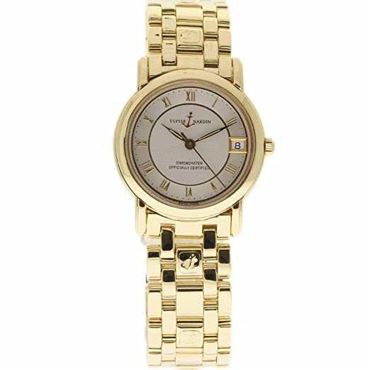 Amazon.com: Ulysse Nardin San Marco Swiss-Automatic Female Watch 131-88 (Certified Pre-Owned): Ulysse Nardin: Watches