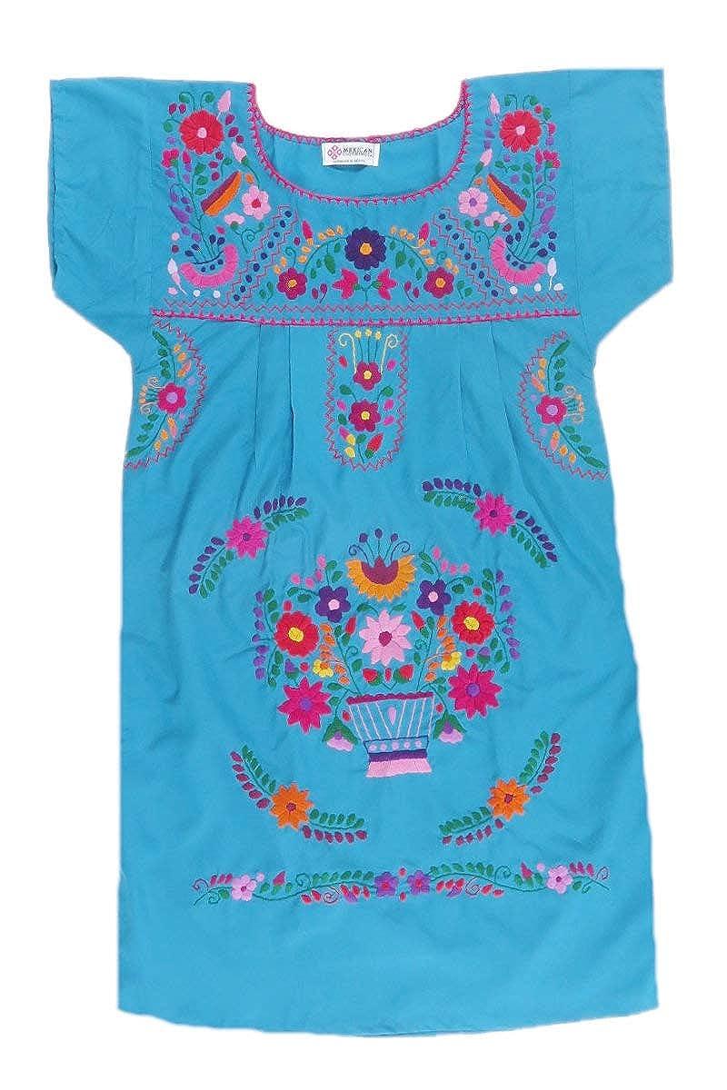 Amazon.com: Mexican Clothing Co - Vestido mexicano para ...