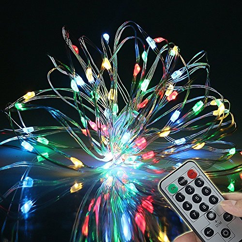 We Install Fairy Lights: 9 Flashing Modes,BOLWEO Battery Operated Fairy Christmas