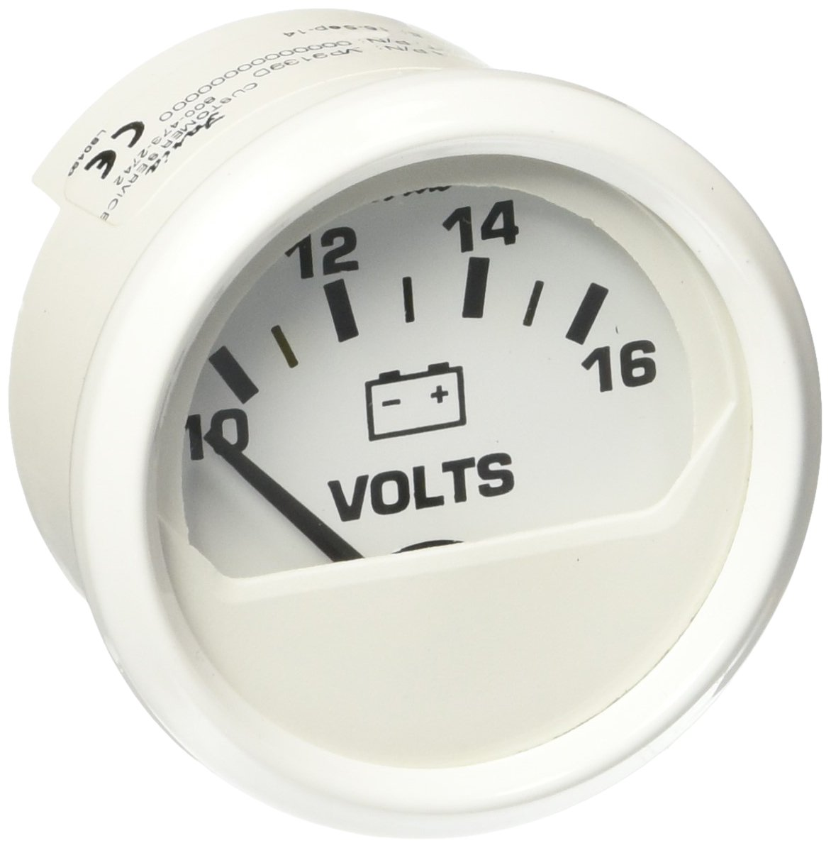 Faria 13120 Voltmeter (3003.352) Faria Beede Instruments 3003.3520 678-13120