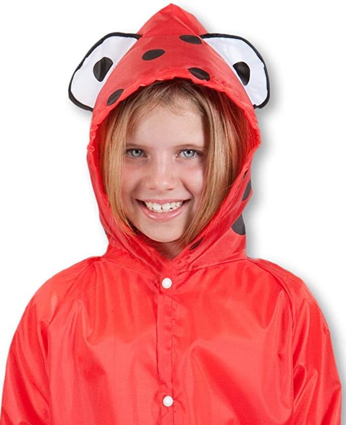 Cloudnine Children's Ladybug Raincoat ages 5-12