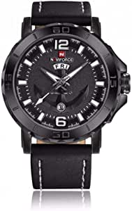 Naviforce Casual Watch For Men Analog-Digital Leather - NF9097M-2
