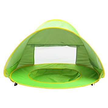 Sunba Youth Baby Beach Tent Baby Pool Tent UV protection Sun Shelters (Green  sc 1 st  Amazon.com : beach tent for baby uv protection - memphite.com