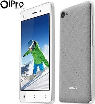 IPRO I9408 Smartphone 3G WCDMA 4,0 Pulgadas Android 5.1 Quad-Core 512M RAM 4GB ROM Dual SIM Mobile Phone Doble cámara 2MP con GPS,WiFi,Bluetooth(Blanco+Gris): Amazon.es: Electrónica