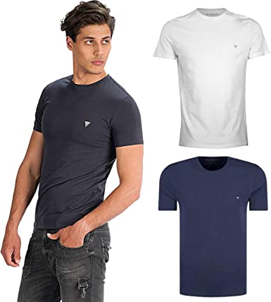 Guess M93I51 J1300 Camisetas Y Camisa DE Tirantes Hombre: Amazon.es: Ropa y accesorios