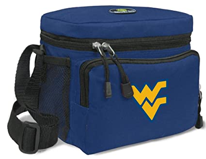 Amazon.com: Wvu bolsa de almuerzo NCAA West Virginia ...