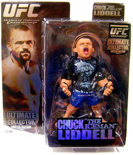 Round 5 MMA UFC Ultimate Collector Series 1 Chuck Liddell Action Figure [Limited (Ufc Action Figure Series)
