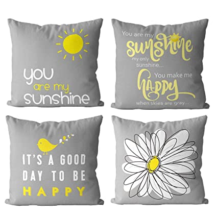 Magnificent 1758Studio Throw Pillow Ccovers Grey Cushion Covers 45Cm X 45Cm Decorative Pillowcases For Couch Living Room Sofa Bed With Invisible Zipper 18X18 Short Links Chair Design For Home Short Linksinfo