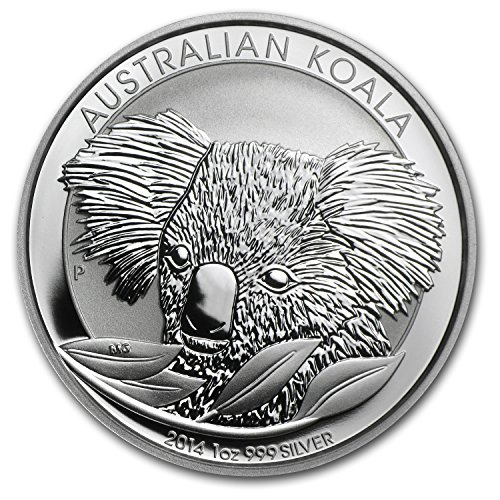 2014 AU Australia 1 oz Silver Koala BU 1 OZ Brilliant - Online Buying In Australia