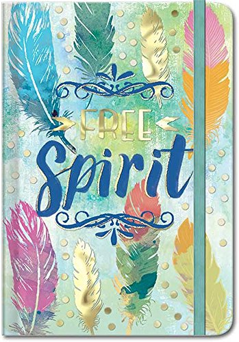 Punch Studio Molly & Rex Words in Bloom Hard Cover Journal - Free Spirit