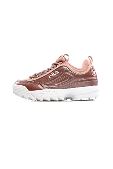 2a044d53b7 Fila Disruptor MM Low Ash Rosegold 101044270X, Trainers: Amazon.co ...