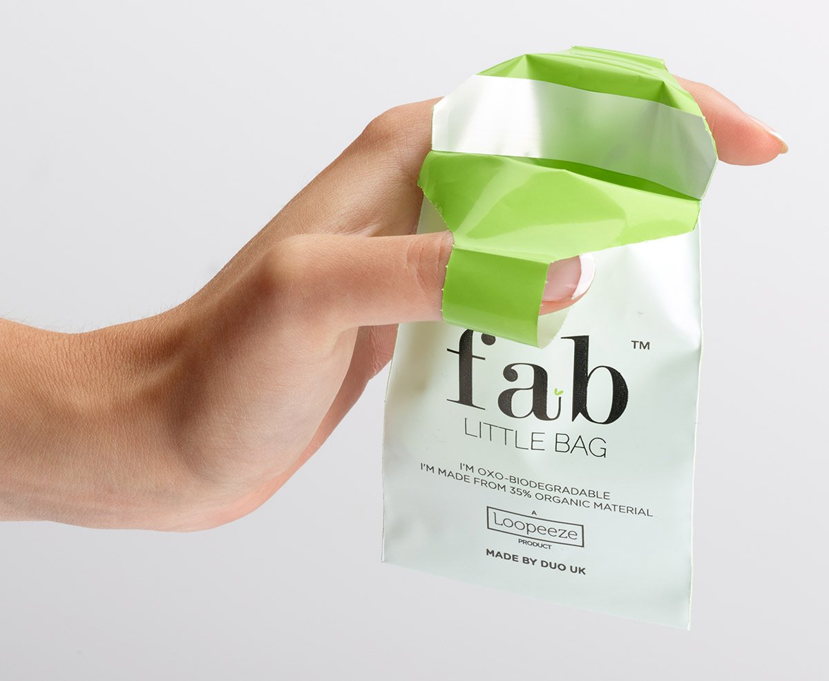 Fab Little Bag Sealable One Handed Tampon Disposal Bag 26g (Pack of 12) by FabLittleBag (Image #3)