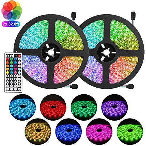 RGB LED Strip Light Kit 65.6ft