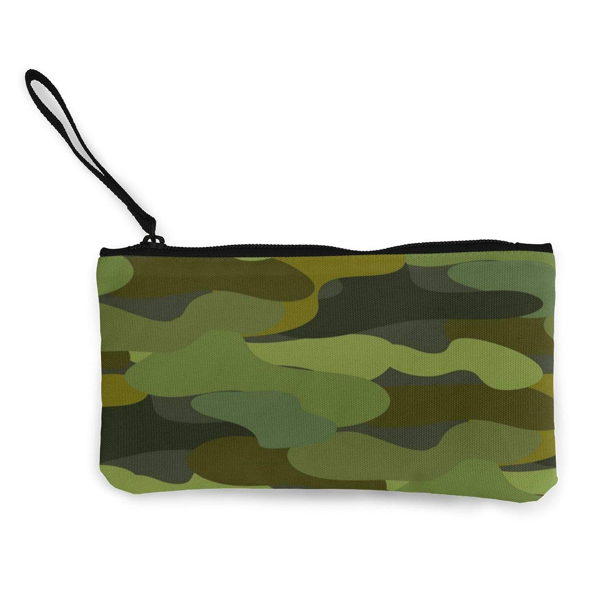 Yamini Khaki Camouflage Seamless Pattern Cute Looking Coin Purse Small and Exquisite Going Out to Carry Purse