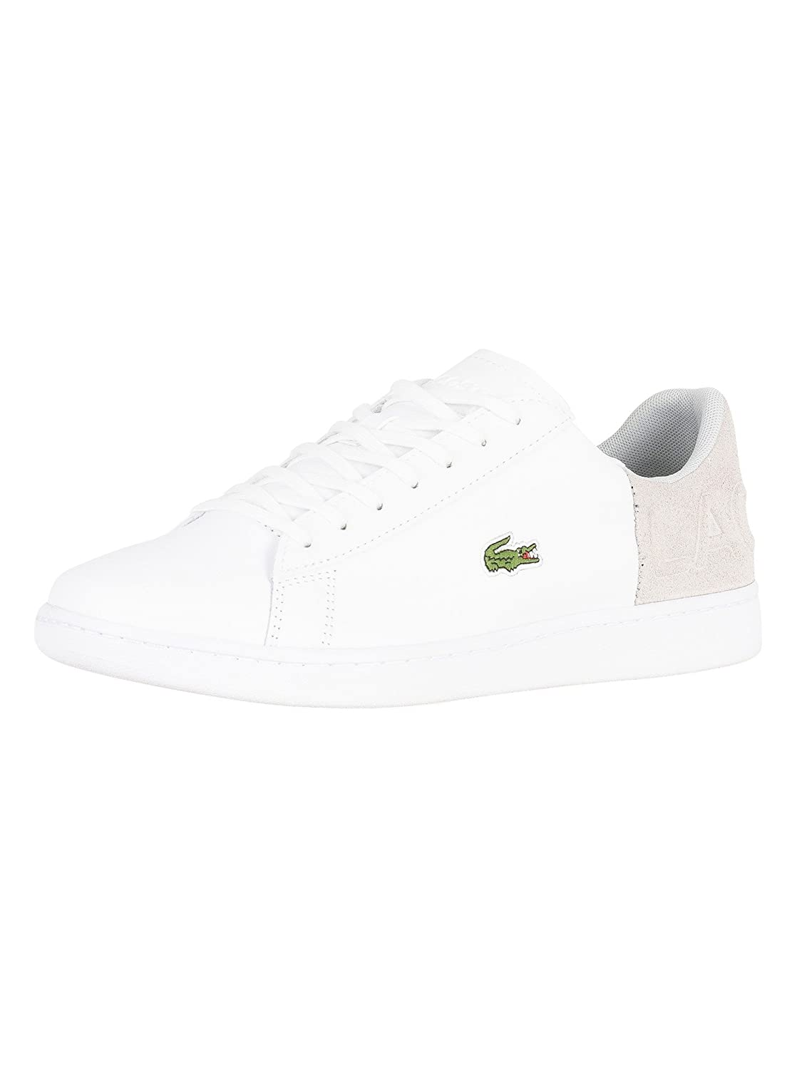 5160b4bfc59a4a Amazon.com  Lacoste Men s Carnaby Evo 318 2 QSP SPM Leather Trainers ...