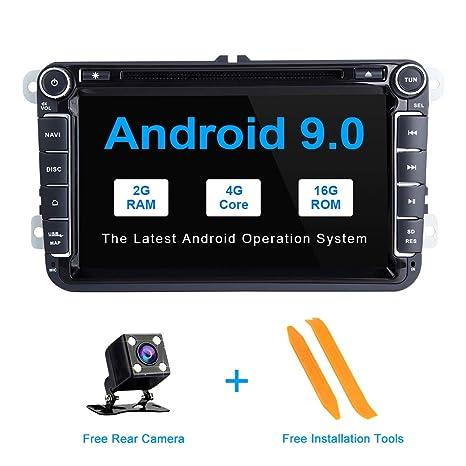 ZLTOOPAI Android 9.0 GPS estéreo navegador Navegador GPS de ...
