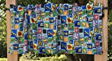 Cheap Construction Work Tools Vehicles Boys Patch Handcrafted Curtain Valance