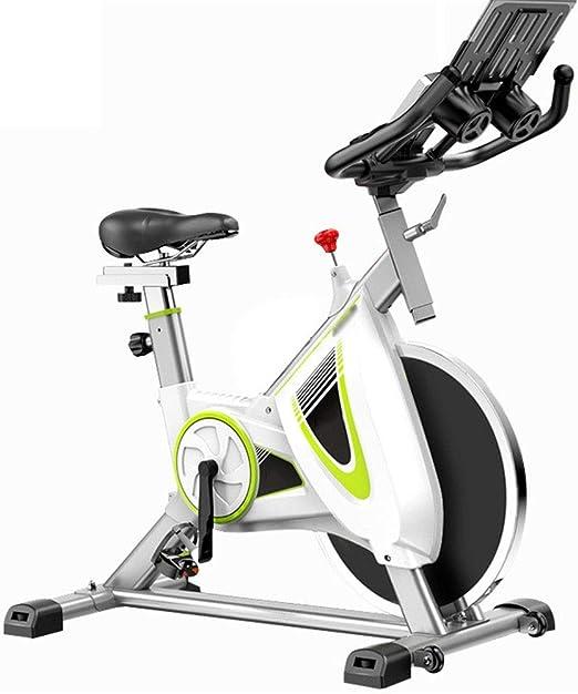JenLn Aeróbico Cubierta de Bicicleta de Ejercicios de Entrenamiento Cardio-Fitness Inicio Ciclismo Racing Bicicletas estáticas y de Spinning (Color : White, Size : 113x56x109cm): Amazon.es: Hogar