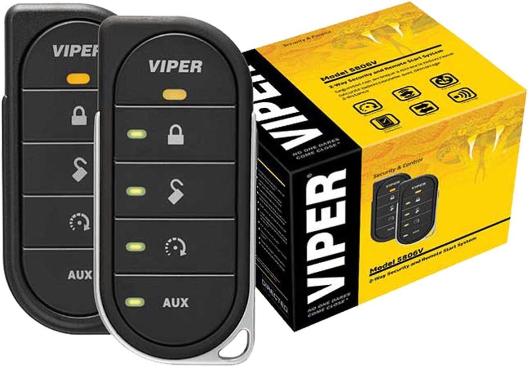 viper remote starter wiring diagram amazon com viper 4806v 2 way led remote start system  viper 4806v 2 way led remote start system