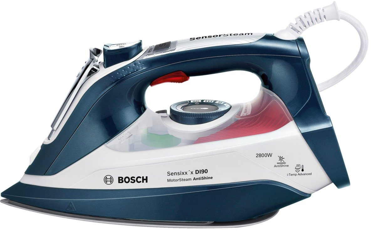 Bosch TDI9010GB Anti-Shine Steam Iron, 2800 W - 0.4 L, Magic Night Blue