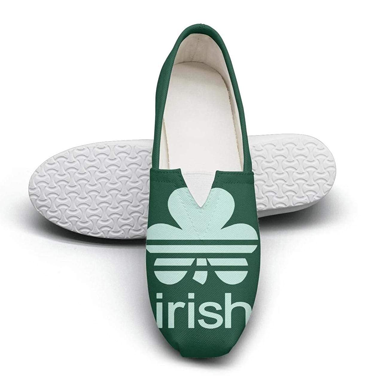 ST Patricks Day Irish Drinking Dilly Dilly Pretty Women Walking Shoes for womens Low Cut Lightweight