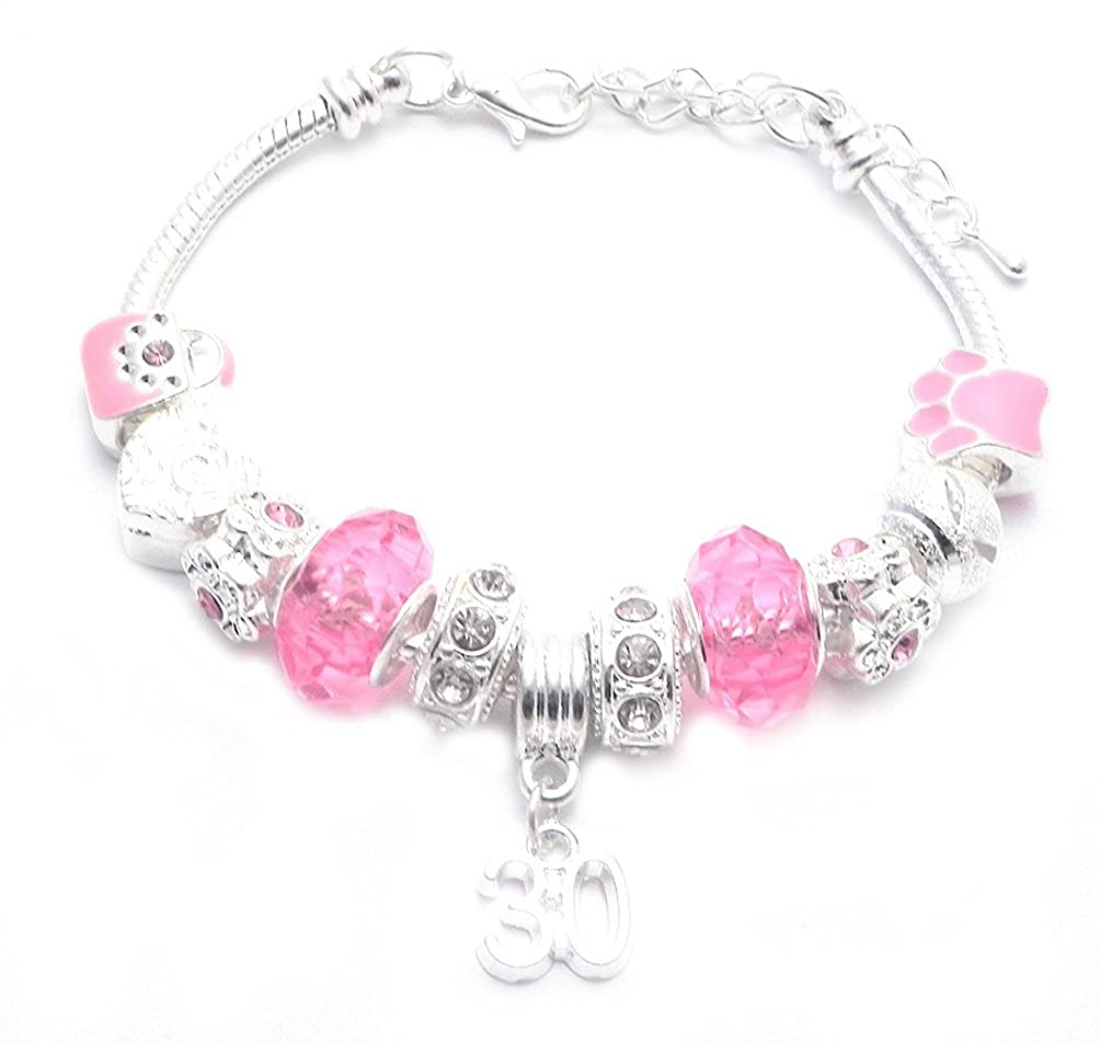 Charmed Jewellery Pulsera para mujer estilo Pandora ...
