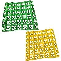 BESTONZON 30 Bandejas para huevos Cartón de envío