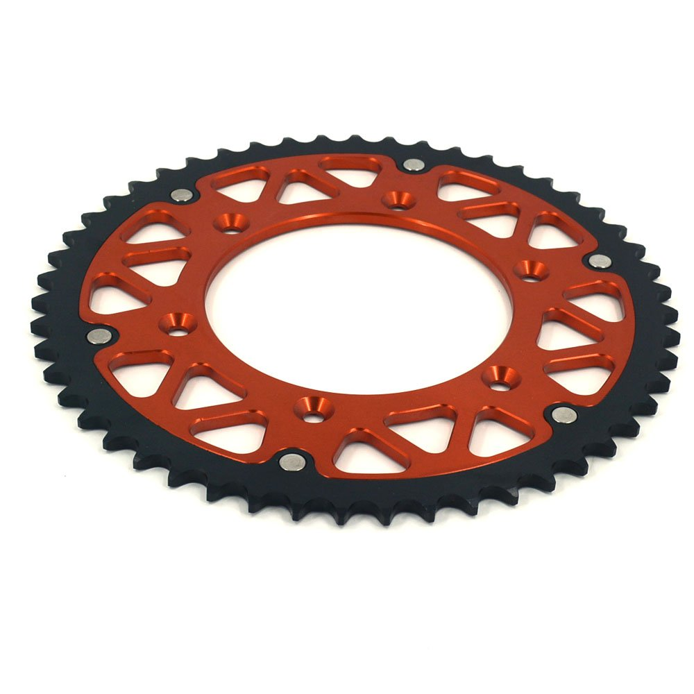 CNC 44T-52T Rear Sprocket For KTM Dirt Bike (51T) Fast Pro