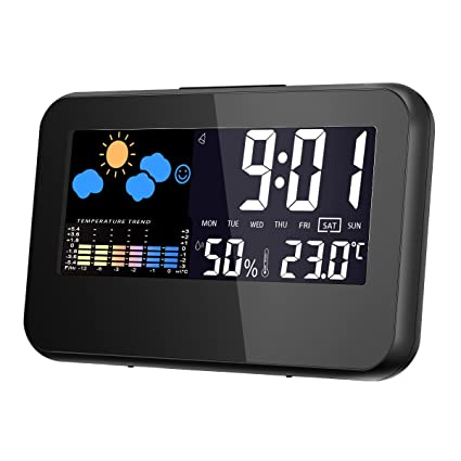 Amazon.com: Temperature Monitor, GLISTENY Thermometer Hygrometer