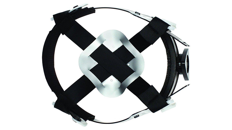 Full Brim Hard Hat, Adjustable Ratchet 4 Pt Suspension, Durable Protection safety helmet, Graphite Pattern Design, Black Matte, by Tuff America by Tuff America (Image #5)