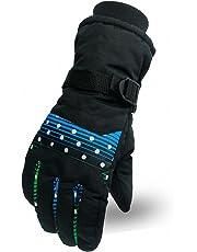 Antideslizante Motocicleta Invierno Cálido Deportes al aire libre Senderismo Ciclismo Hombres Mujeres Completo Finger Pantalla táctil Guantes