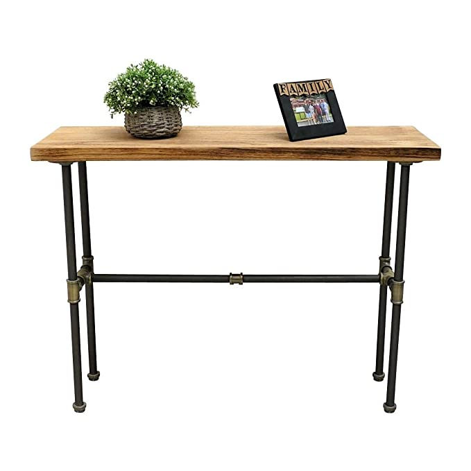 Amazon.com: Corvallis Industrial Chic Solid Sustainable Wood ...