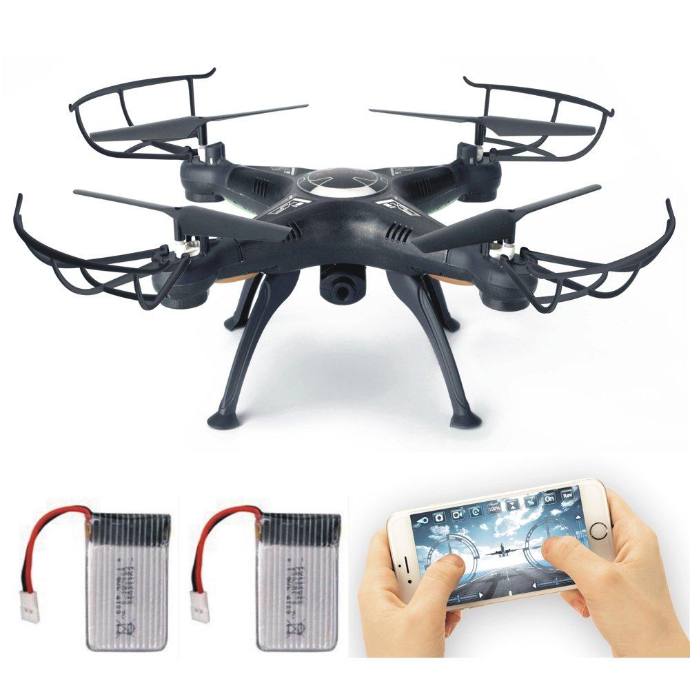 LAMASTON X5SW-1 WIFI HD camera RC quadcopter FPV real time transmission drone (nero)